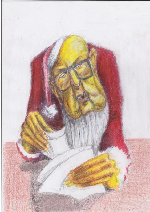 Il saluto di Babbo Natale