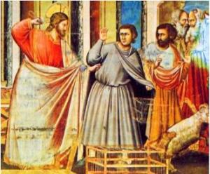 Gesù scaccia